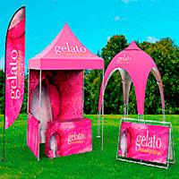 Outdoor Displays, Banners