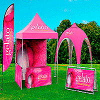 Outdoor Displays, Banners